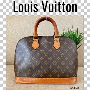 Louis Vuitton Satchel Alma Bag